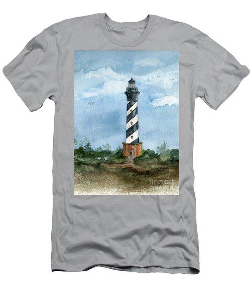 Cape Hatteras Lighthouse  Men's T-Shirt (Athletic Fit)