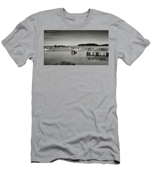 Cape Porpoise Harbor Men's T-Shirt (Athletic Fit)