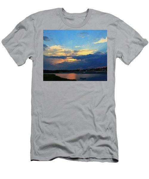 Cape Sunset  Men's T-Shirt (Athletic Fit)