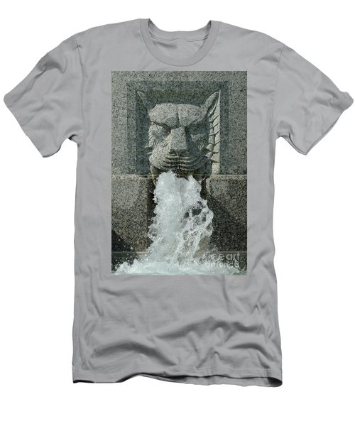 Senate Fountain Lion Men's T-Shirt (Athletic Fit)