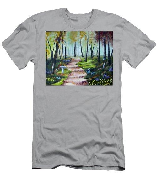 Cardinal Paradise Men's T-Shirt (Athletic Fit)