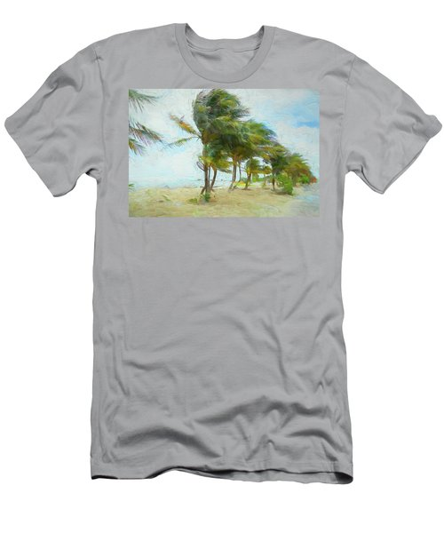 Men's T-Shirt (Athletic Fit) featuring the photograph Caribbean Getaway by John M Bailey