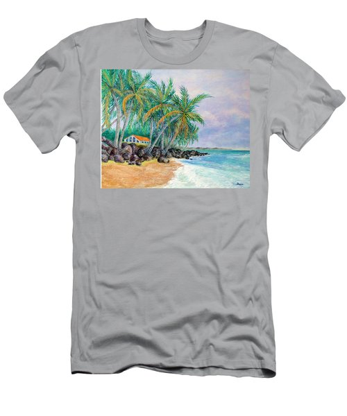 Caribbean Retreat Men's T-Shirt (Slim Fit) by Susan DeLain