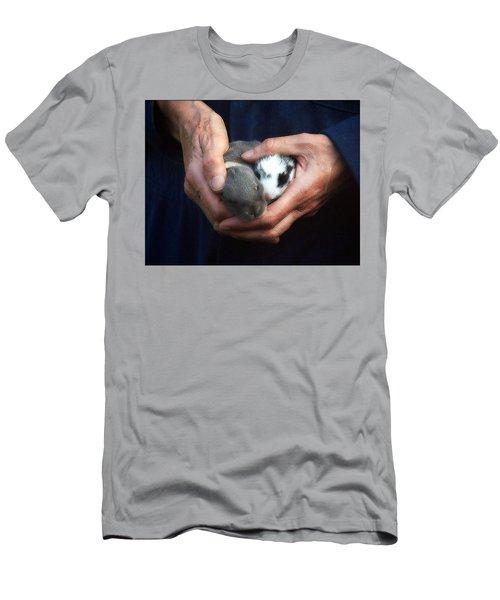 Caring Hands Men's T-Shirt (Athletic Fit)