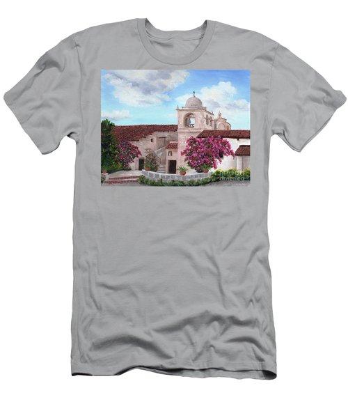 Carmel Mission In Spring Men's T-Shirt (Athletic Fit)