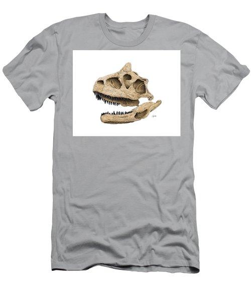 Carnotaurus Skull Men's T-Shirt (Athletic Fit)