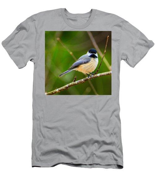 Carolina Chickadee Men's T-Shirt (Athletic Fit)