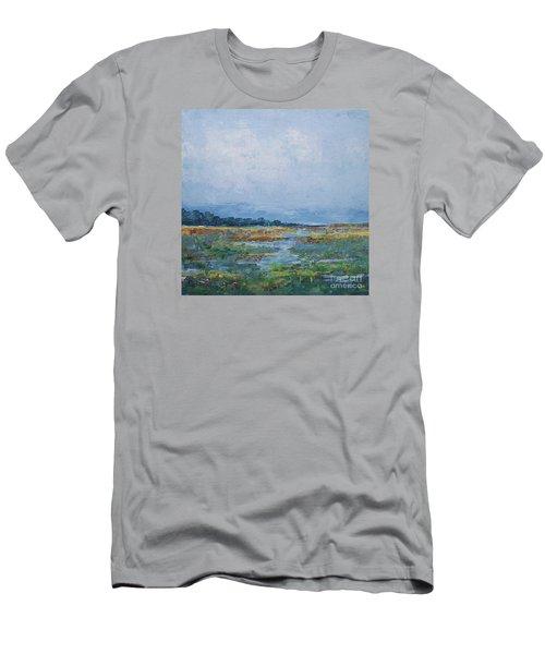 Carolina Country Blues Men's T-Shirt (Athletic Fit)