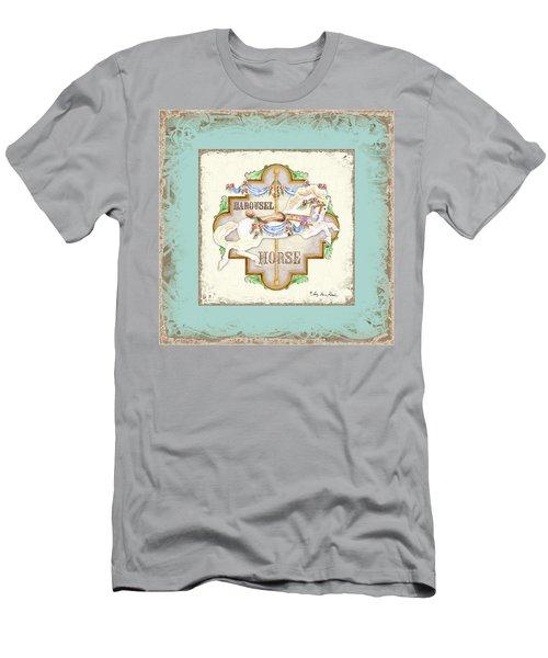 Carousel Dreams - Horse Men's T-Shirt (Athletic Fit)