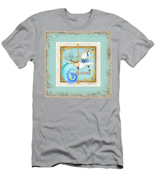 Carousel Dreams - Seahorse Men's T-Shirt (Athletic Fit)