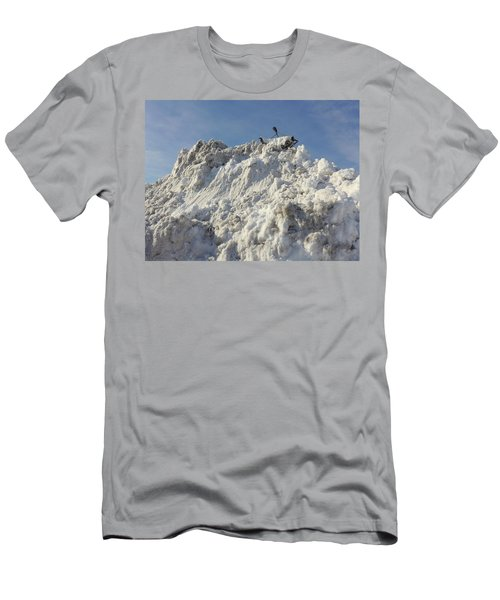 Men's T-Shirt (Athletic Fit) featuring the photograph Cart Art No. 31 by Keith McGill
