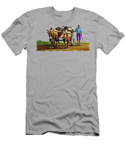 Cart Man Men's T-Shirt (Athletic Fit)
