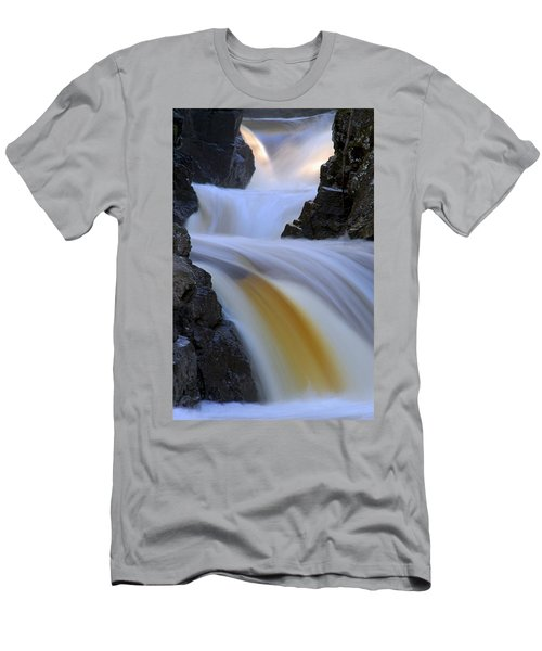 Cascade At Dawn Men's T-Shirt (Athletic Fit)