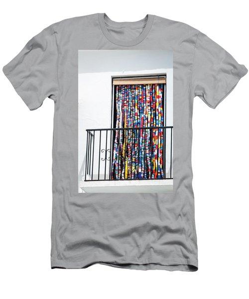 Cascade Of Colour Men's T-Shirt (Athletic Fit)