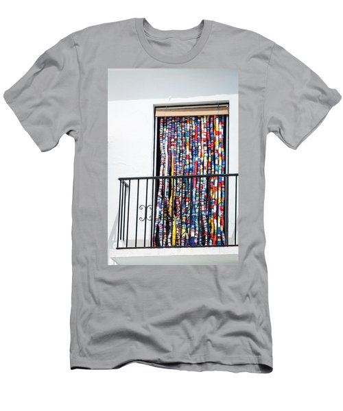 Cascade Of Colour Men's T-Shirt (Athletic Fit)