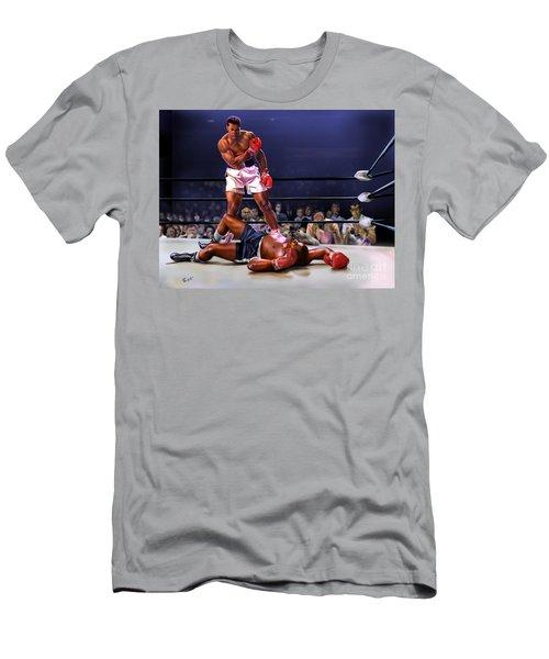 Cassius Clay Vs Sonny Liston Men's T-Shirt (Athletic Fit)
