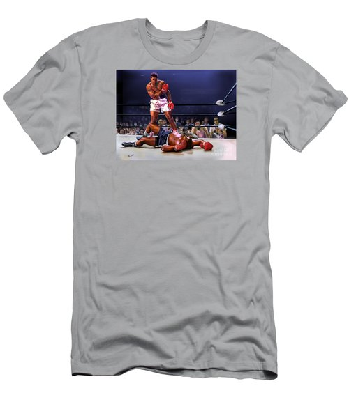 Cassius Clay Vs Sonny Liston Men's T-Shirt (Athletic Fit)