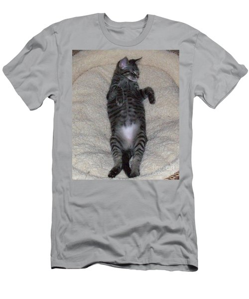 Cat In Repose Men's T-Shirt (Athletic Fit)