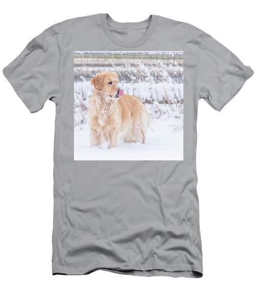 Catching Snowflakes Men's T-Shirt (Athletic Fit)