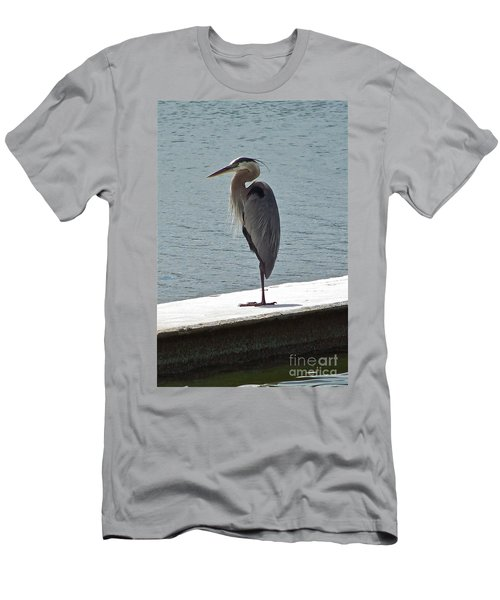 Men's T-Shirt (Slim Fit) featuring the photograph Catching Some Morning Rays by Carol  Bradley