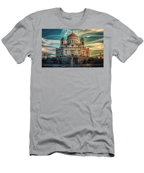 Cathedral Of Christ The Saviour Men's T-Shirt (Athletic Fit)