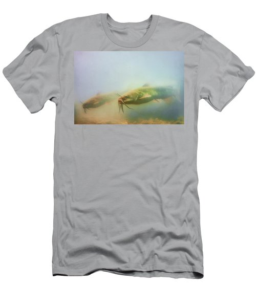 Cats In The Water Men's T-Shirt (Athletic Fit)
