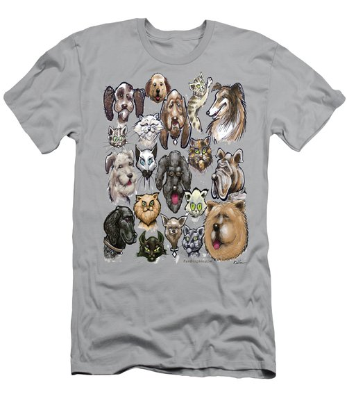 Cats N Dogs Men's T-Shirt (Athletic Fit)