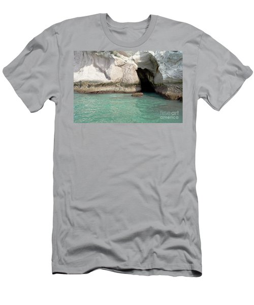 Men's T-Shirt (Slim Fit) featuring the photograph Cave Entranve by Yurix Sardinelly
