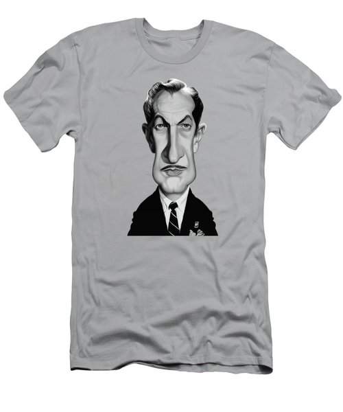 Celebrity Sunday - Vincent Price Men's T-Shirt (Athletic Fit)