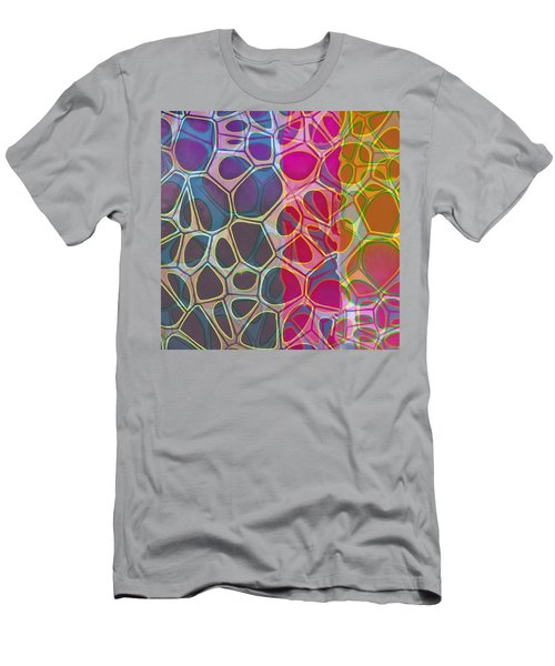 Cell Abstract 11 Men's T-Shirt (Slim Fit) by Edward Fielding