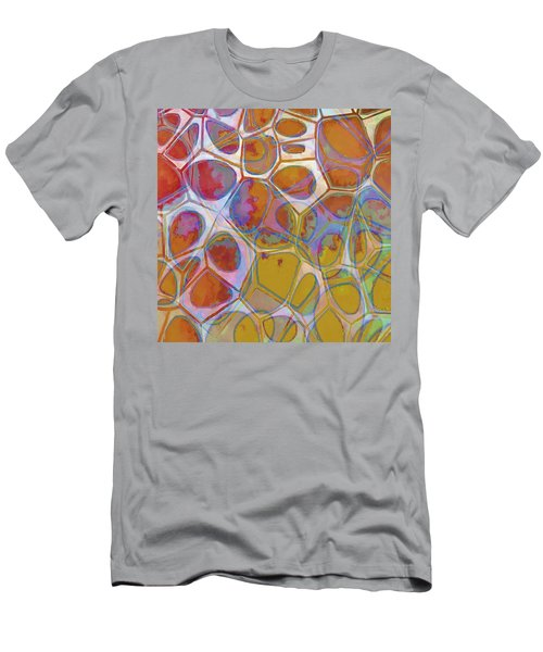 Cell Abstract 14 Men's T-Shirt (Slim Fit) by Edward Fielding