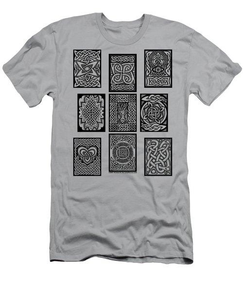 Celtic Tarot Spread Men's T-Shirt (Athletic Fit)