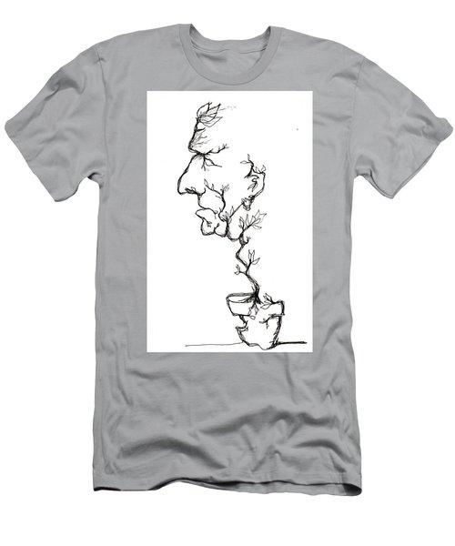 Cesar Salad-cracked Pots Men's T-Shirt (Athletic Fit)