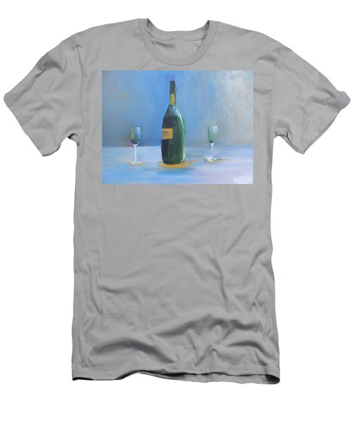 Champagne For Two Men's T-Shirt (Athletic Fit)