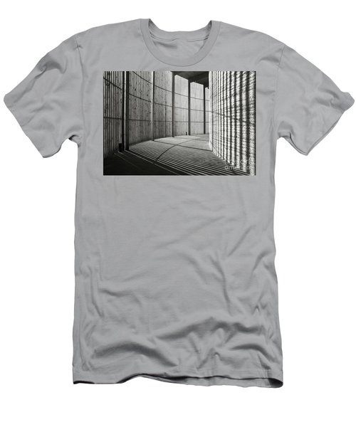 Men's T-Shirt (Athletic Fit) featuring the photograph Chapel Of Reconciliation  by Silva Wischeropp