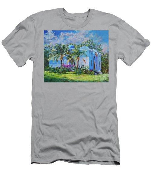 Chapel Of St. Panteleimon Men's T-Shirt (Slim Fit) by AnnaJo Vahle