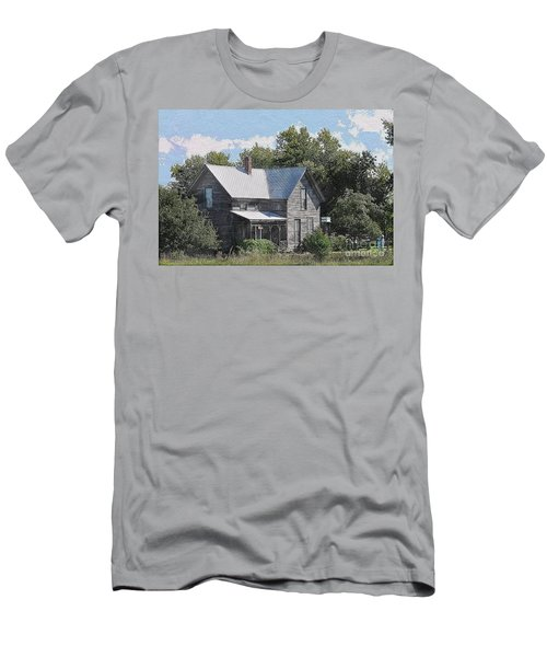 Charming Country Home Men's T-Shirt (Athletic Fit)