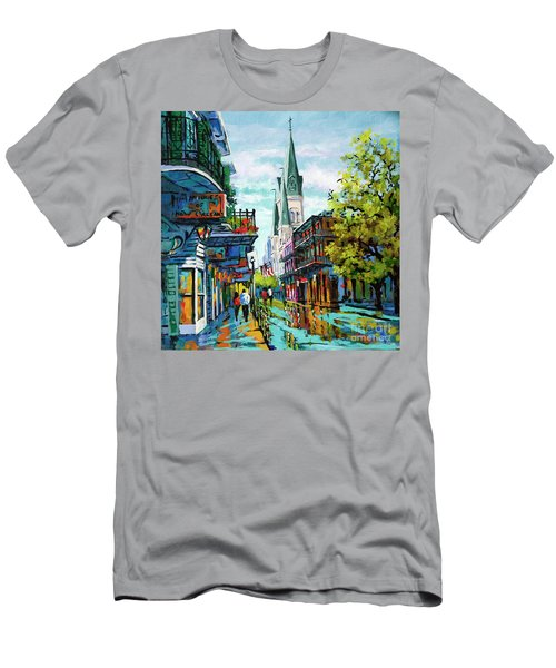 Chartres Glow Men's T-Shirt (Athletic Fit)