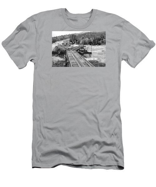 Checking The Rails Men's T-Shirt (Athletic Fit)
