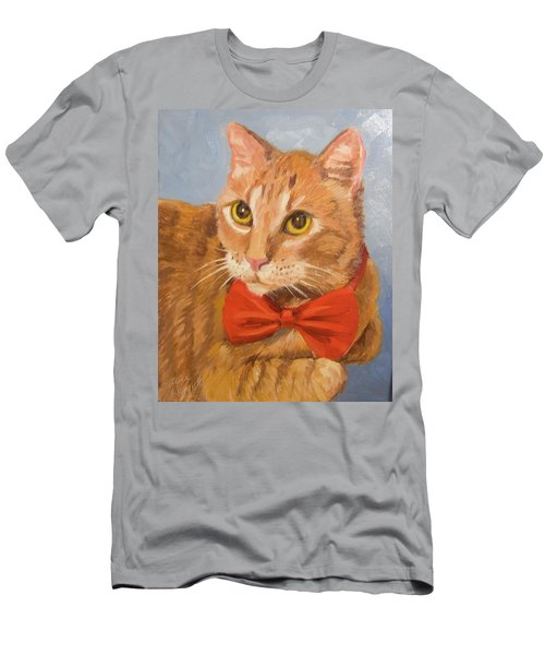 Cheetoh Cat Portrait Men's T-Shirt (Athletic Fit)