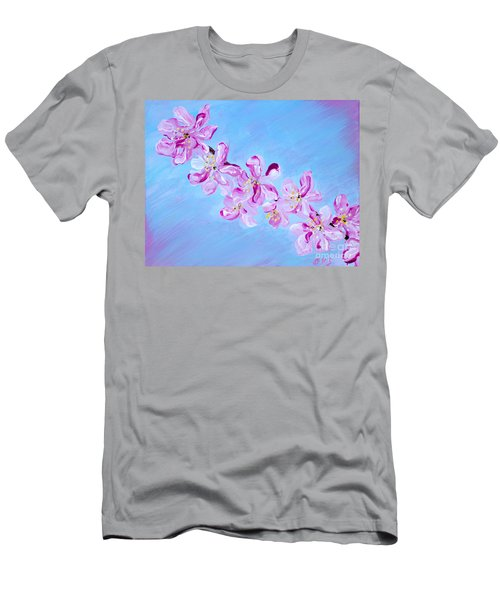 Cherry Blossoms. Thank You Collection Men's T-Shirt (Athletic Fit)