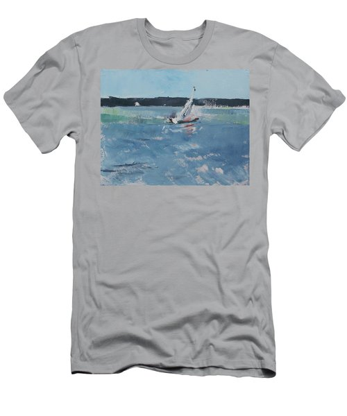 Chesapeake Bay Sailing Men's T-Shirt (Athletic Fit)