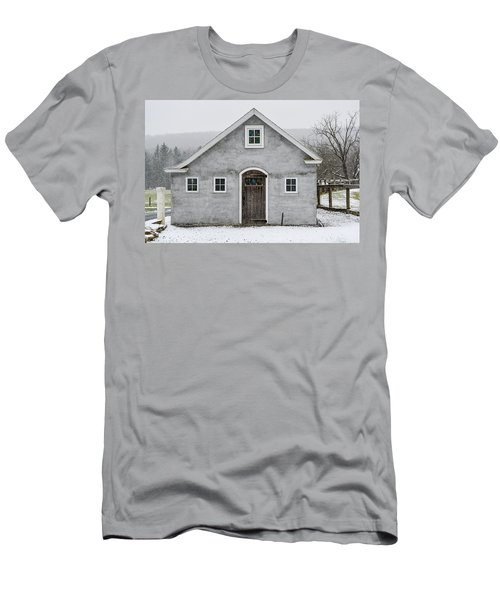 Chester County In The Snow Men's T-Shirt (Athletic Fit)