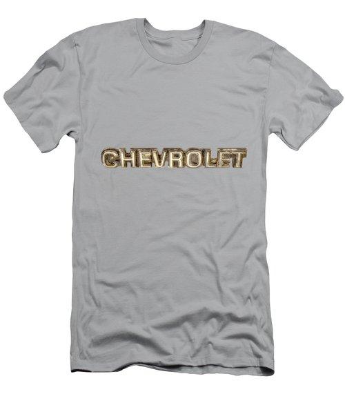 Chevrolet Chrome Emblem Men's T-Shirt (Athletic Fit)