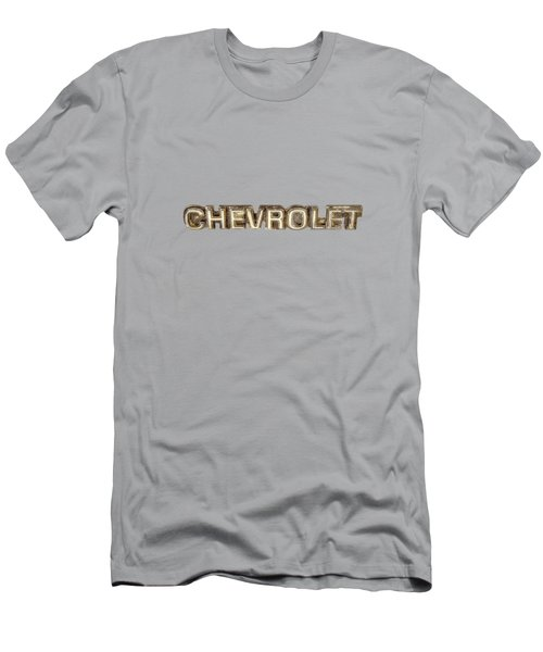 Chevrolet Chrome Emblem Men's T-Shirt (Athletic Fit)