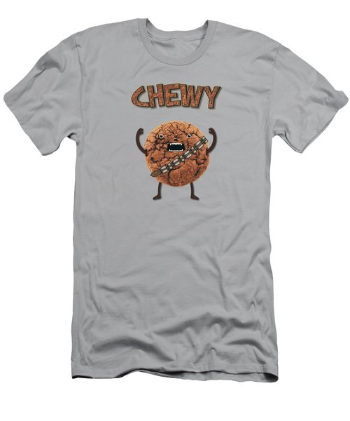 Chewy Chocolate Cookie Wookiee Men's T-Shirt (Athletic Fit)