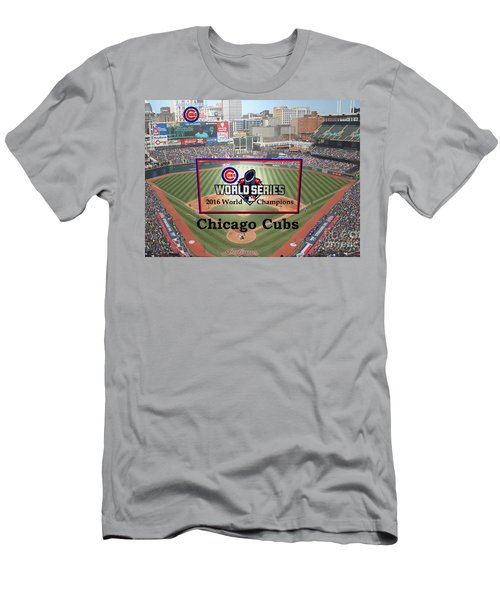 Chicago Cubs - 2016 World Series Champions Men's T-Shirt (Athletic Fit)