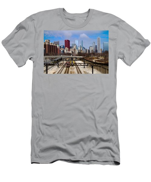 Chicago Metro Men's T-Shirt (Athletic Fit)