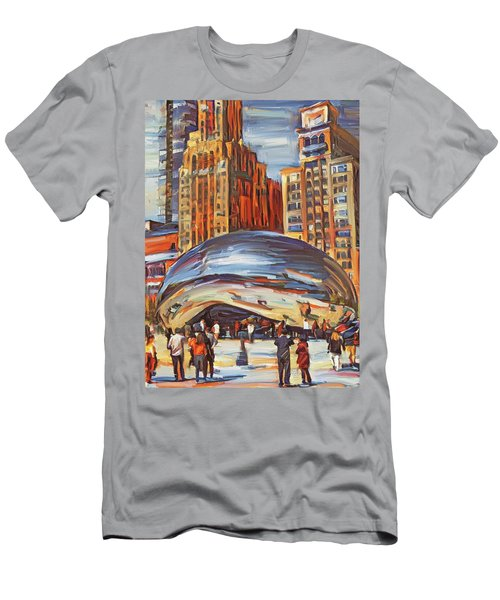 Chicago Millennium 2 Men's T-Shirt (Athletic Fit)