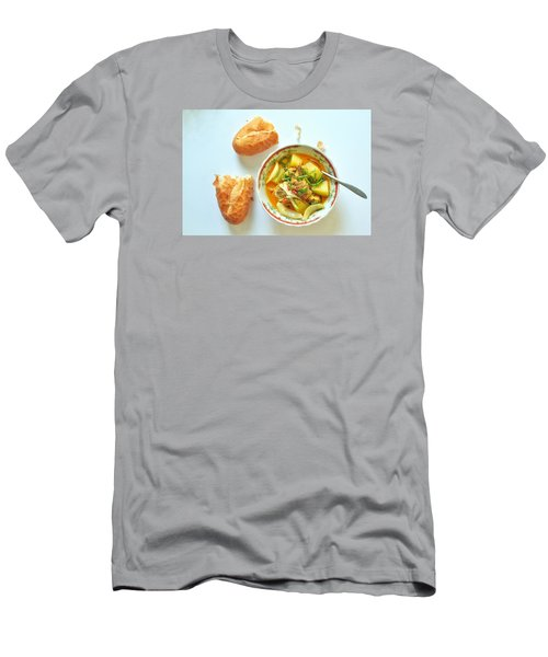 Chicken Curry2 Men's T-Shirt (Athletic Fit)